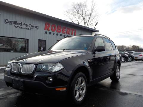 2008 BMW X3 for sale at Roberti Automotive in Kingston NY