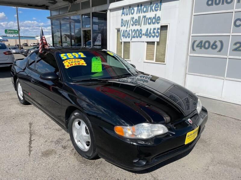 2001 Chevrolet Monte Carlo for sale at Auto Market in Billings MT