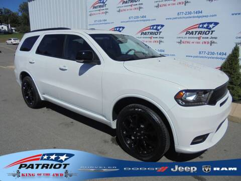 2020 Dodge Durango for sale at PATRIOT CHRYSLER DODGE JEEP RAM in Oakland MD
