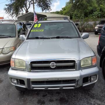 2003 Nissan Pathfinder for sale at Easy Credit Auto Sales in Cocoa FL