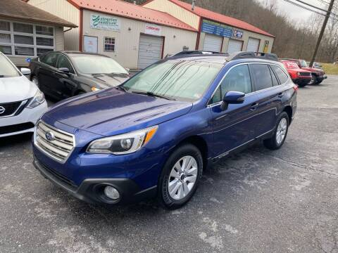 2017 Subaru Outback for sale at THE AUTOMOTIVE CONNECTION in Atkins VA