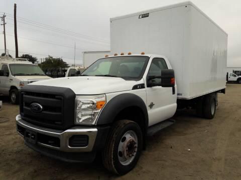 2012 Ford F-550 Super Duty for sale at DOABA Motors in San Jose CA