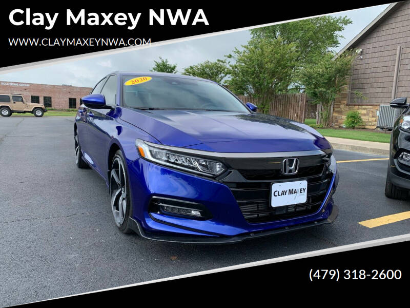 2020 Honda Accord for sale at Clay Maxey NWA in Springdale AR