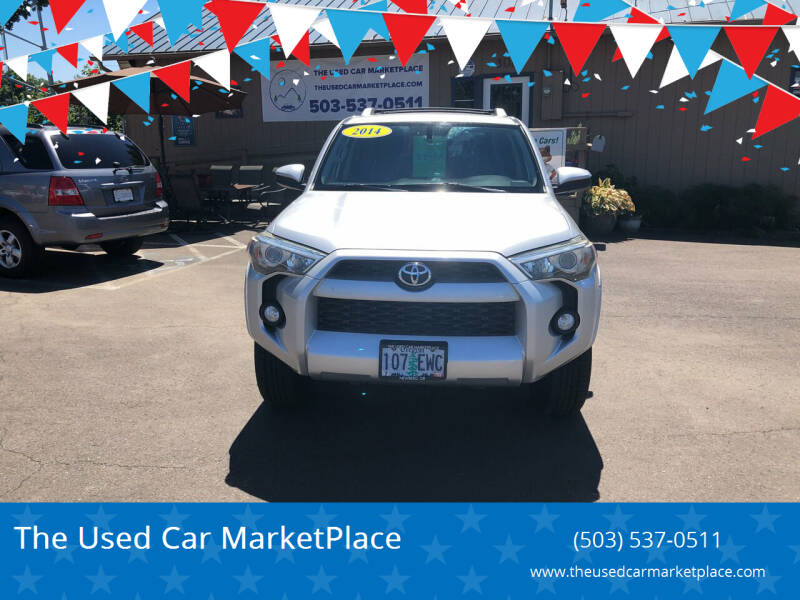 2014 Toyota 4Runner for sale at The Used Car MarketPlace in Newberg OR