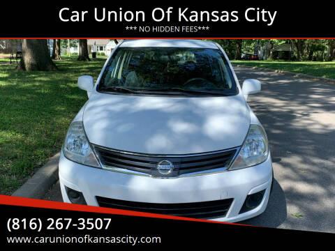 2010 Nissan Versa for sale at Car Union Of Kansas City in Kansas City MO
