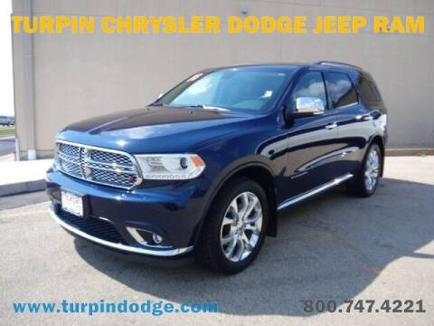 2016 Dodge Durango for sale at Turpin Dodge Chrysler Jeep Ram in Dubuque IA