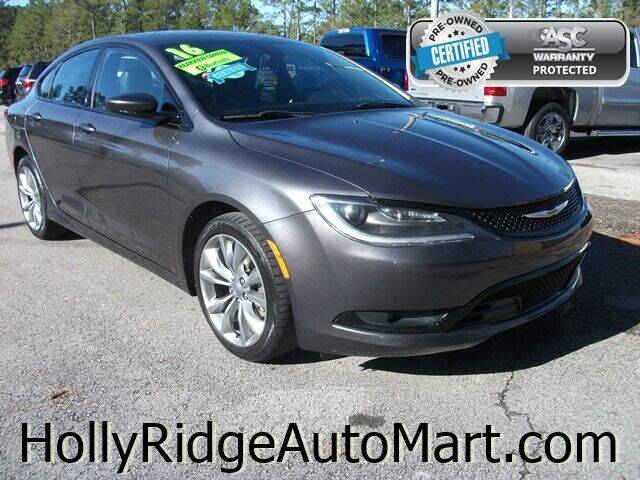 2016 Chrysler 200 for sale at Holly Ridge Auto Mart in Holly Ridge NC