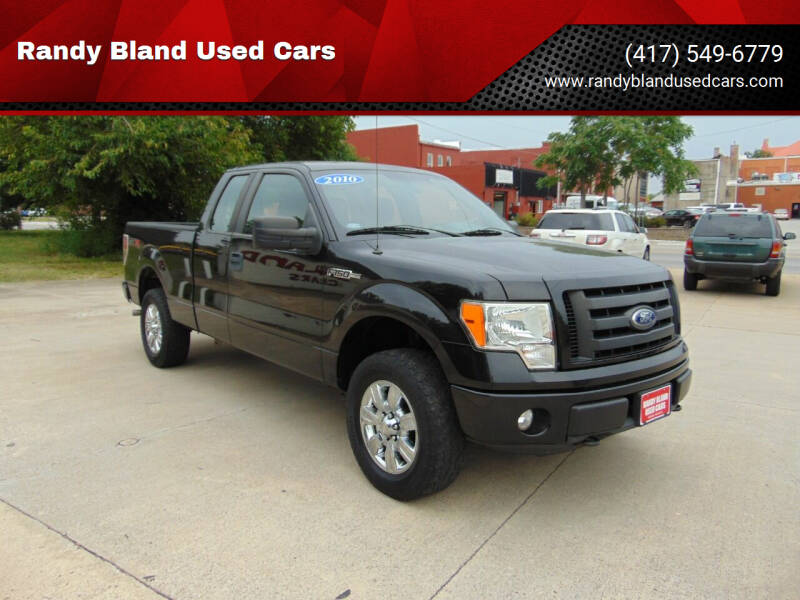 2010 Ford F-150 for sale at Randy Bland Used Cars in Nevada MO