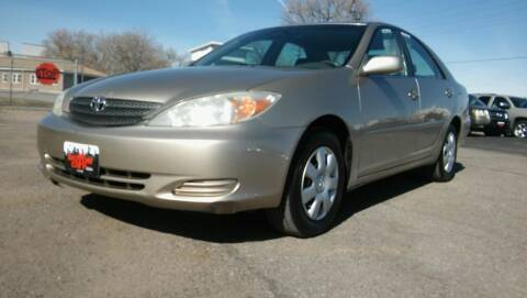 2003 Toyota Camry for sale at Motor City Idaho in Pocatello ID