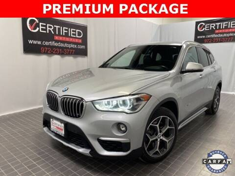 2017 BMW X1 for sale at CERTIFIED AUTOPLEX INC in Dallas TX