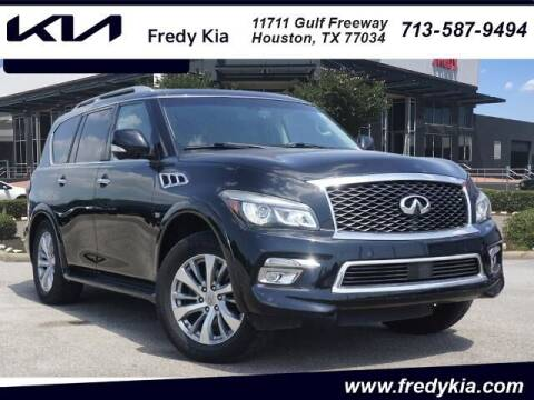 2015 Infiniti QX80 for sale at FREDY KIA USED CARS in Houston TX