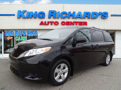 2013 Toyota Sienna for sale at KING RICHARDS AUTO CENTER in East Providence RI