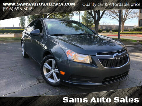 2013 Chevrolet Cruze for sale at Sams Auto Sales in North Highlands CA