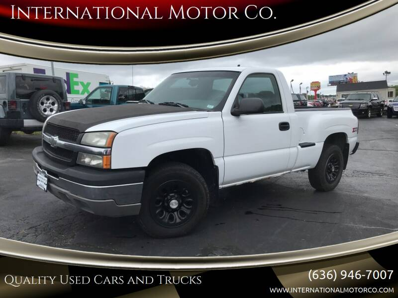 2003 Chevrolet Silverado 1500 for sale at International Motor Co. in Saint Charles MO