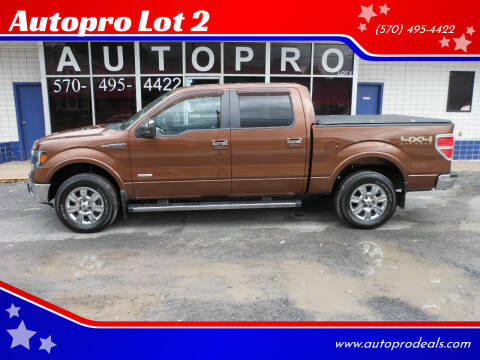 2012 Ford F-150 for sale at Autopro Lot 2 in Sunbury PA