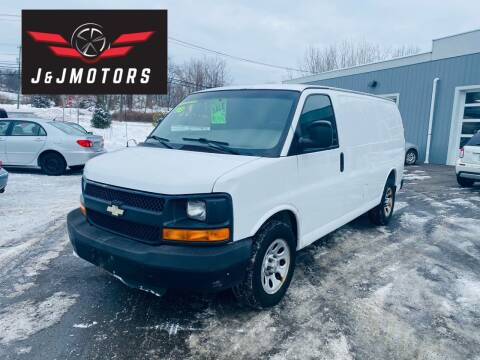 2009 Chevrolet Express Cargo for sale at J & J MOTORS in New Milford CT
