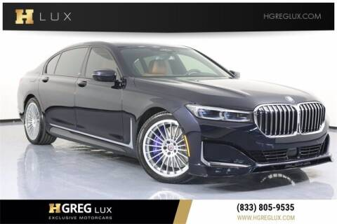 2020 BMW 7 Series for sale at HGREG LUX EXCLUSIVE MOTORCARS in Pompano Beach FL