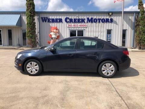 2015 Chevrolet Cruze for sale at Weber Creek Motors in Corpus Christi TX