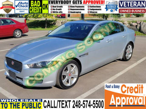 2017 Jaguar XE for sale at North Oakland Motors in Waterford MI