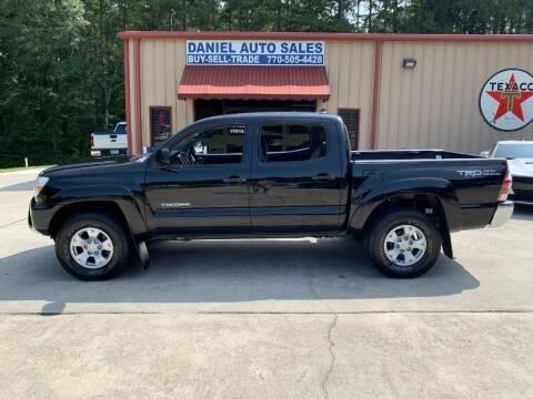 2015 Toyota Tacoma for sale at Daniel Used Auto Sales in Dallas GA