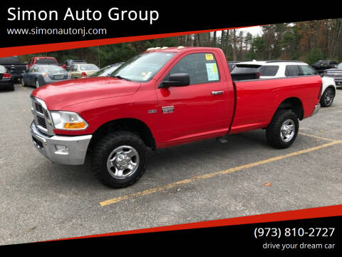2011 RAM Ram Pickup 2500 for sale at Simon Auto Group in Newark NJ