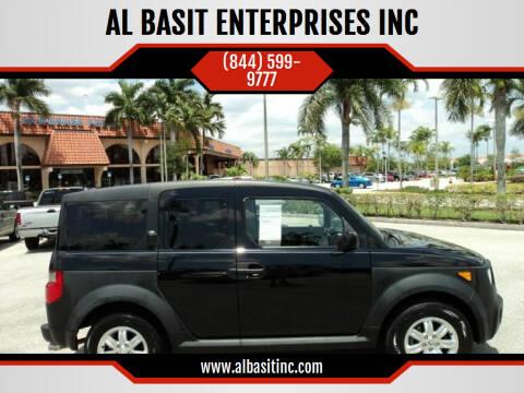 2006 Honda Element for sale at AL BASIT ENTERPRISES INC in Riverside CA