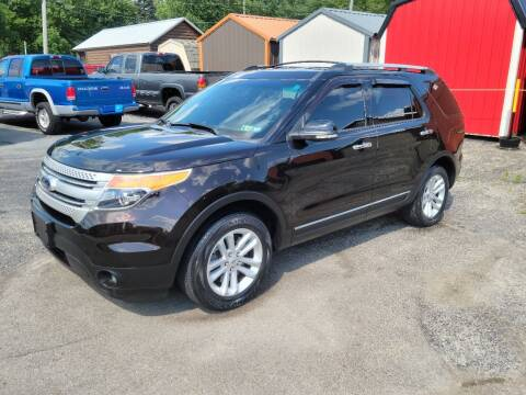 2013 Ford Explorer for sale at Motorsports Motors LLC in Youngstown OH