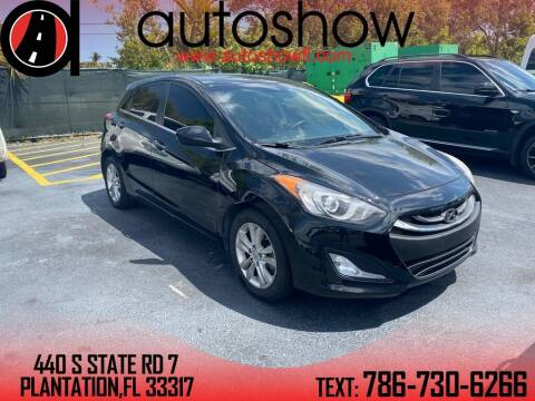 2014 Hyundai Elantra GT for sale at AUTOSHOW SALES & SERVICE in Plantation FL