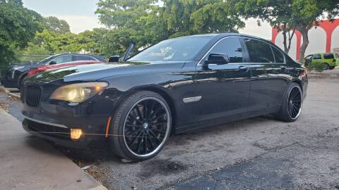 2012 BMW 7 Series for sale at All Around Automotive Inc in Hollywood FL