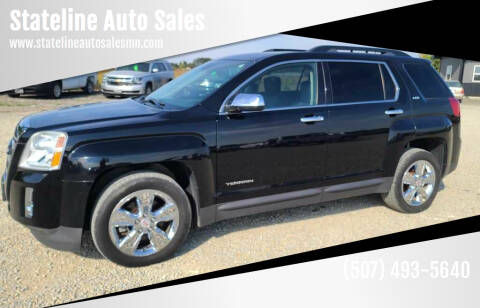 2015 GMC Terrain for sale at Stateline Auto Sales in Mabel MN
