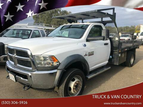 2015 RAM Ram Chassis 5500 for sale at Truck & Van Country in Shingle Springs CA