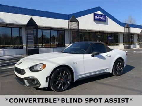 2017 FIAT 124 Spider for sale at Impex Auto Sales in Greensboro NC