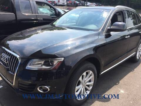 2015 Audi Q5 for sale at J & M Automotive in Naugatuck CT