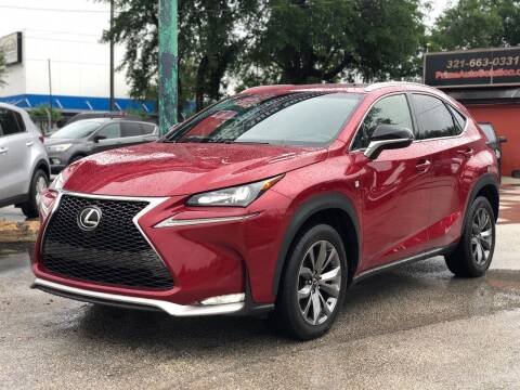 2015 Lexus NX 200t for sale at Prime Auto Solutions in Orlando FL