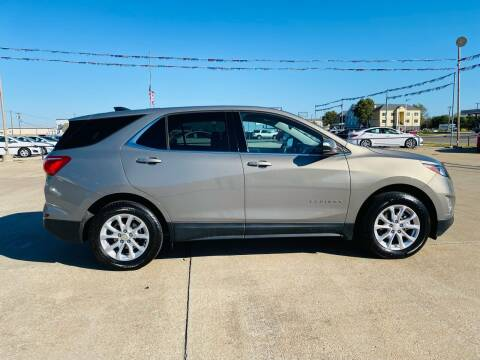 2019 Chevrolet Equinox for sale at Pioneer Auto in Ponca City OK