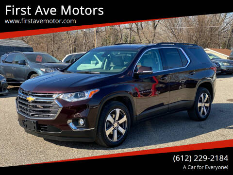 2020 Chevrolet Traverse for sale at First Ave Motors in Shakopee MN