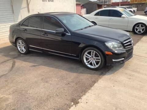 2014 Mercedes-Benz C-Class for sale at ALMOST NEW AUTO RENTALS & SALES in Mesa AZ