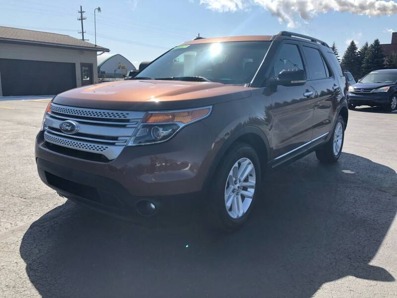 2012 Ford Explorer for sale at Mike's Budget Auto Sales in Cadillac MI