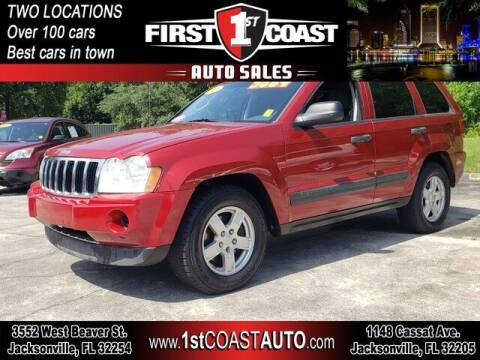 2006 Jeep Grand Cherokee for sale at 1st Coast Auto -Cassat Avenue in Jacksonville FL