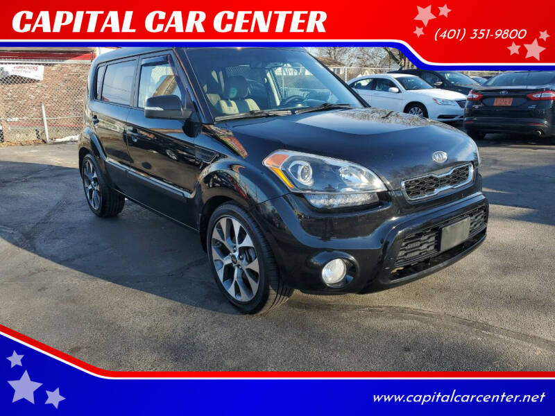 2012 Kia Soul for sale at CAPITAL CAR CENTER in Providence RI