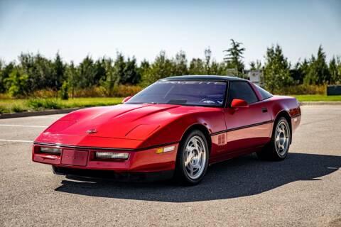 1990 Chevrolet Corvette for sale at Exotic Motorsports of Oklahoma in Edmond OK