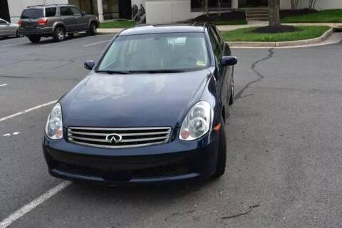 2005 Infiniti G35 for sale at SEIZED LUXURY VEHICLES LLC in Sterling VA