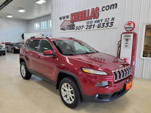 2014 Jeep Cherokee for sale at Kinsellas Auto Sales in Rochester MN