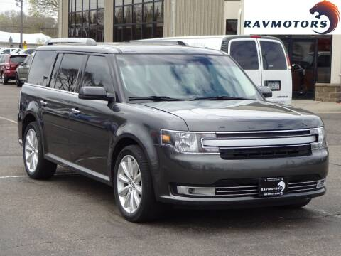 2015 Ford Flex for sale at RAVMOTORS 2 in Crystal MN