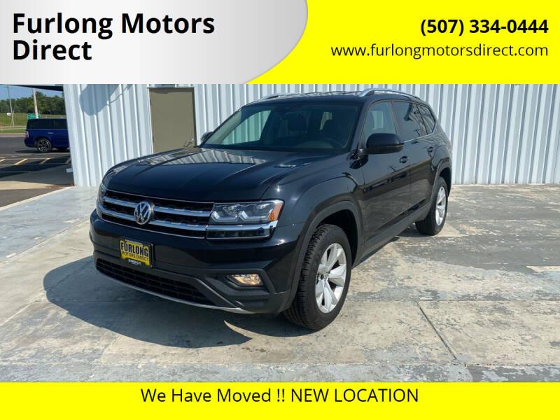 2018 Volkswagen Atlas for sale at Furlong Motors Direct in Faribault MN