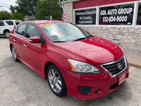 2015 Nissan Sentra for sale at GOL Auto Group in Austin TX