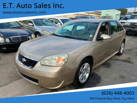 2006 Chevrolet Malibu Maxx for sale at E.T. Auto Sales Inc. in El Monte CA
