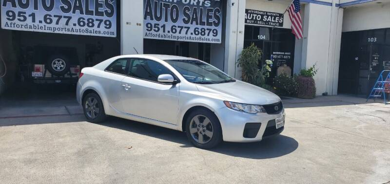2011 Kia Forte Koup for sale at Affordable Imports Auto Sales in Murrieta CA