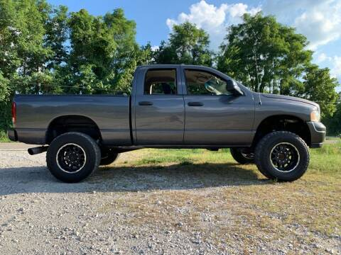 2004 Dodge Ram Pickup 2500 for sale at Tennessee Valley Wholesale Autos LLC in Huntsville AL