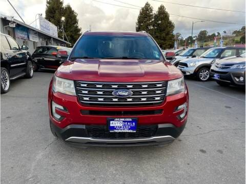 2016 Ford Explorer for sale at AutoDeals in Hayward CA